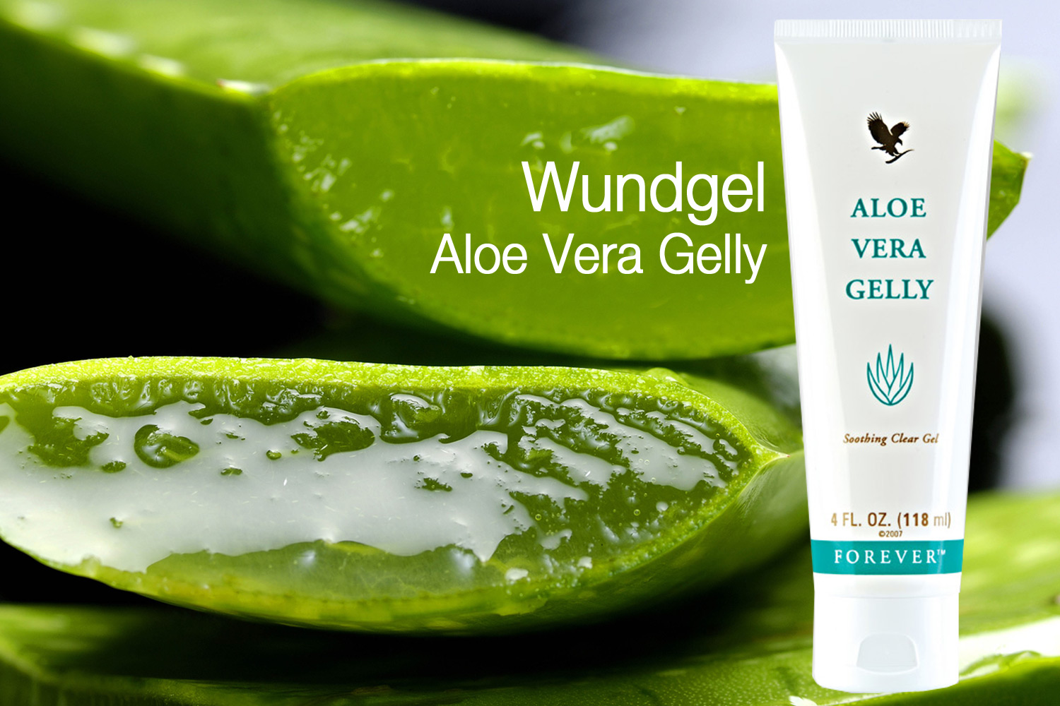 Wunde Verbrennung Heilung Aloe Vera Gelly Forever Living